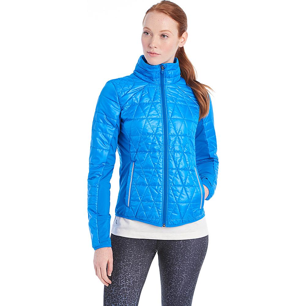Lole Glee Jacket L - Electric Blue - Lole Womens Apparel - Apparel & Footwear, Women's Apparel
