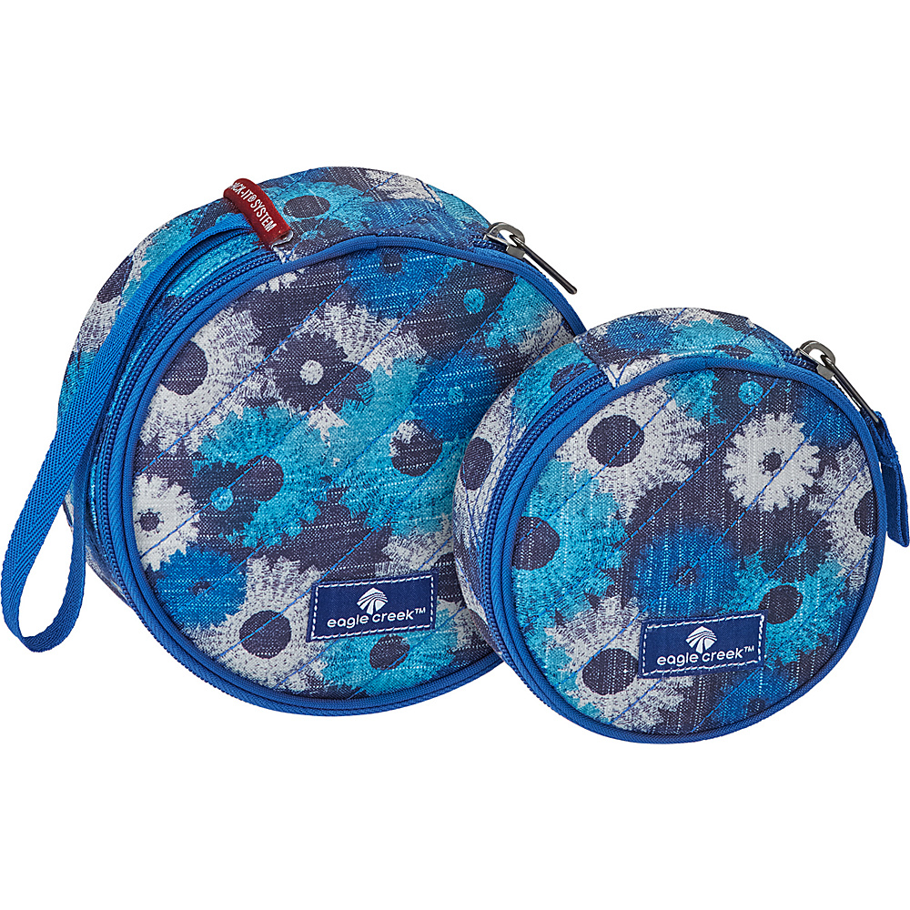 Eagle Creek Pack-It OriginalQuilted Circlet Set Daisy Chain Blue - Eagle Creek Travel Organizers - Travel Accessories, Travel Organizers