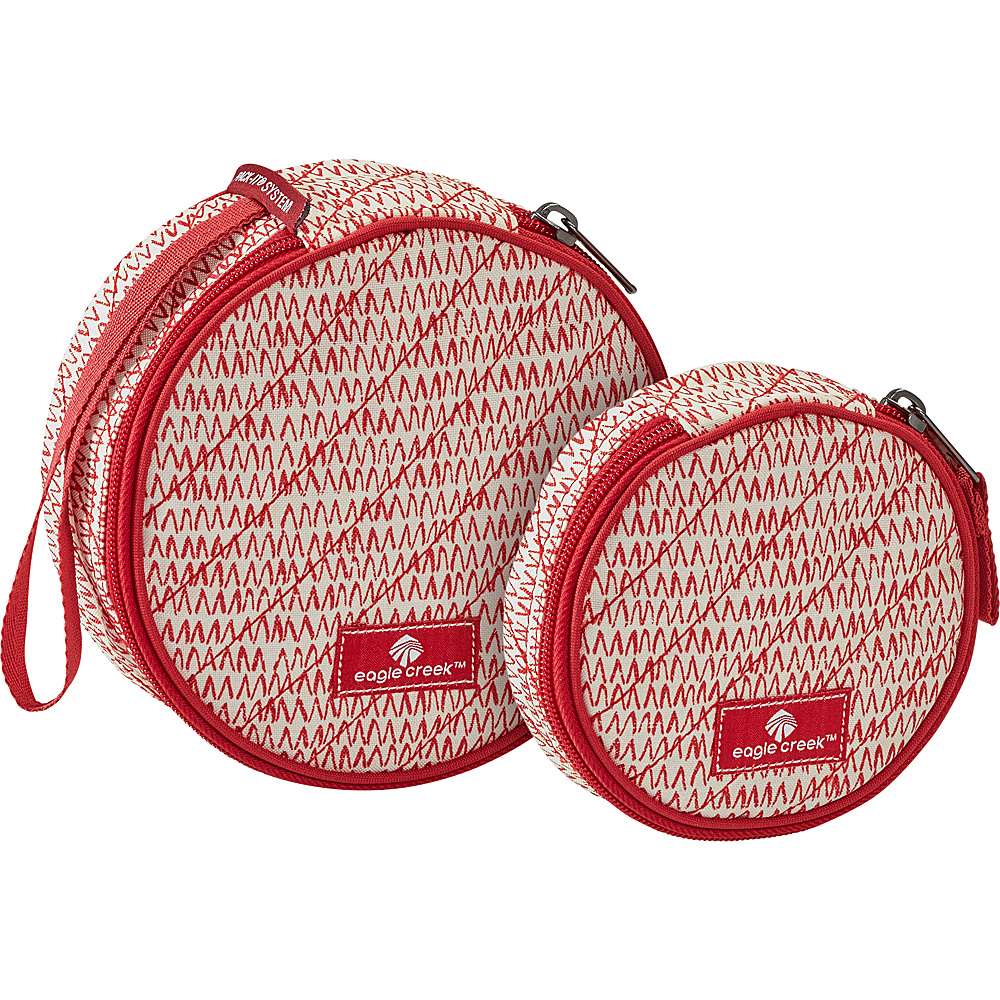 Eagle Creek Pack-It OriginalQuilted Circlet Set Repeak Red - Eagle Creek Travel Organizers - Travel Accessories, Travel Organizers