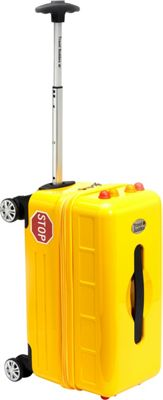 TrendyKid Travel Buddies Ride-On School Bus School Bus Yellow - TrendyKid Softside Carry-On