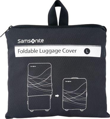 Samsonite Travel Accessories Foldable Luggage Cover - Large Black - Samsonite Travel Accessories Luggage Accessories