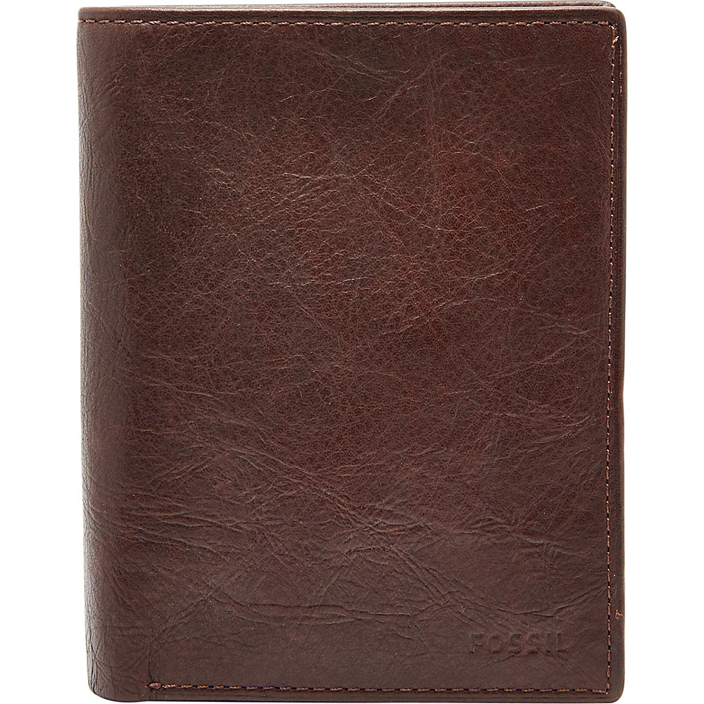 Fossil Ingram RFID International Combination Wallet Brown - Fossil Mens Wallets - Work Bags & Briefcases, Men's Wallets