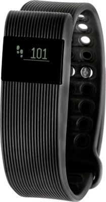 RBX TR3 Activity Tracker & HR Monitor with Call & Message Display Black - RBX Wearable Technology