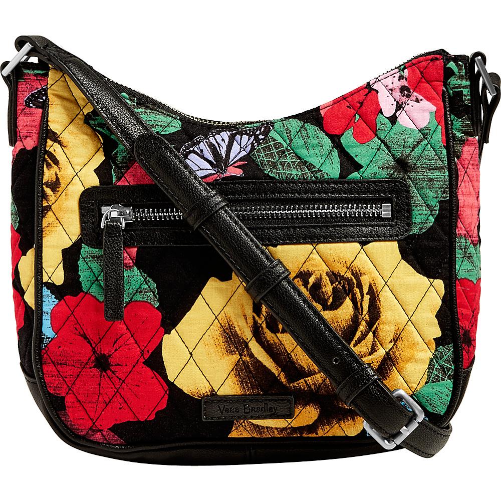 Vera Bradley Mini Vivian Crossbody Havana Rose - Vera Bradley Fabric Handbags - Handbags, Fabric Handbags