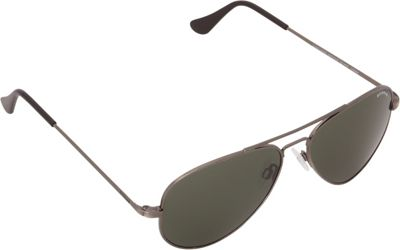BENRUS Concorde Sunglasses - 57mm Antique Silver - BENRUS Sunglasses