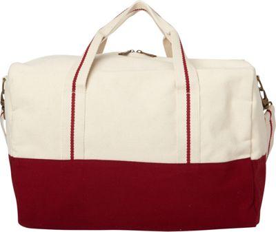Shorebags Overnighter Duffel Maroon - Shorebags Travel Duffels