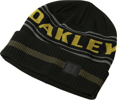 Oakley Rockgarden Cuff Beanie Jet Black - Oakley Hats/Gloves/Scarves