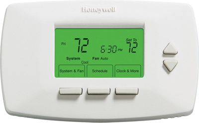 Honeywell Honeywell 7-Day Programmable Thermostat White - Honeywell Smart Home Automation