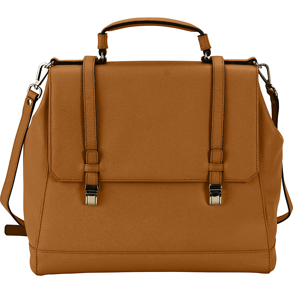 Hadaki Lady Urban Small Messenger Camel - Hadaki Leather Handbags - Handbags, Leather Handbags