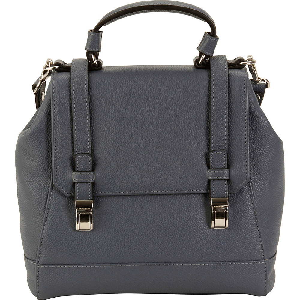 Hadaki Lady Urban Small Messenger Marine Blue - Hadaki Leather Handbags - Handbags, Leather Handbags