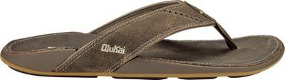 OluKai Mens Nui Sandal 13 - Clay/Clay - OluKai Men's Footwear