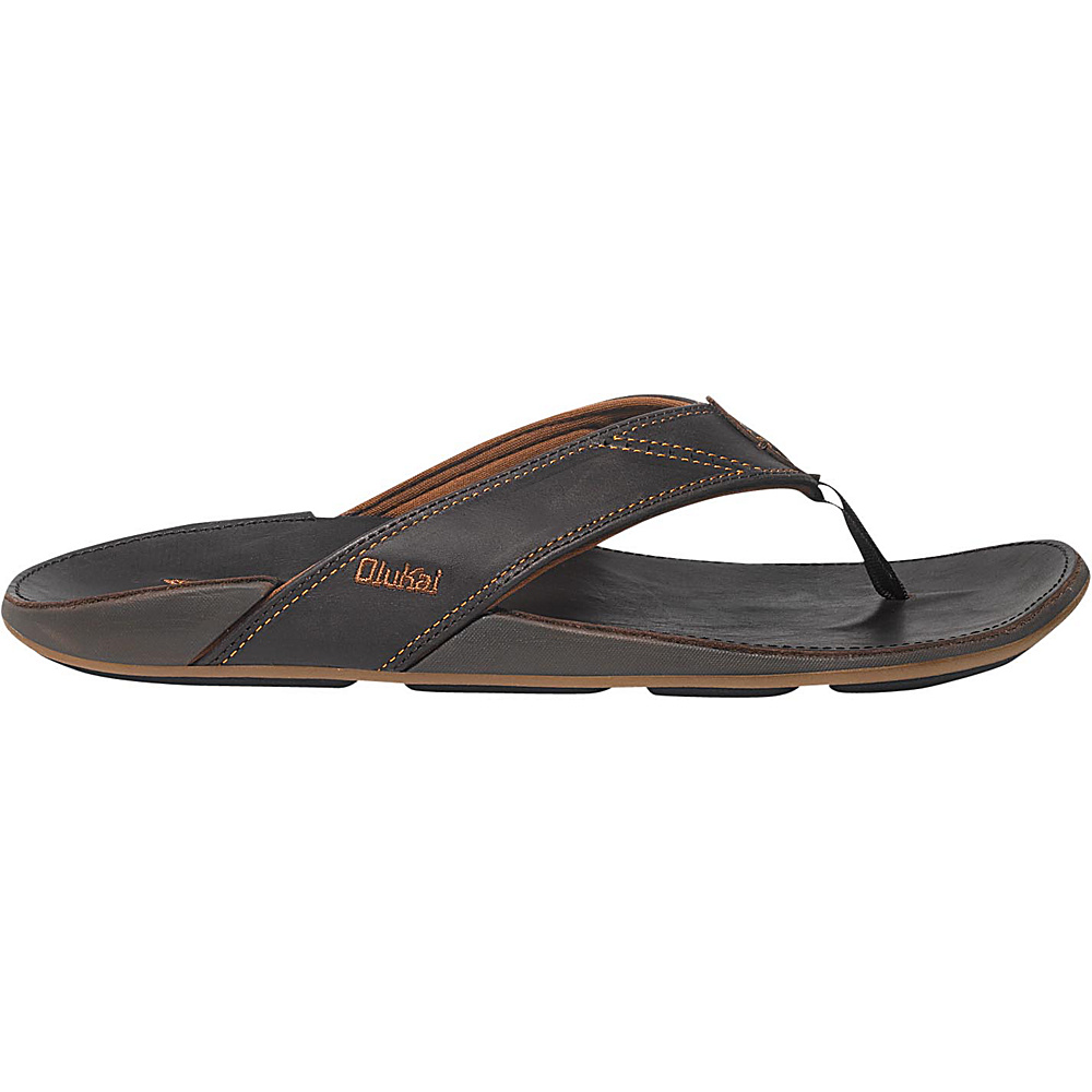 OluKai Mens Nui Sandal 7 - Dark Java/Dark Java - OluKai Mens Footwear - Apparel & Footwear, Men's Footwear