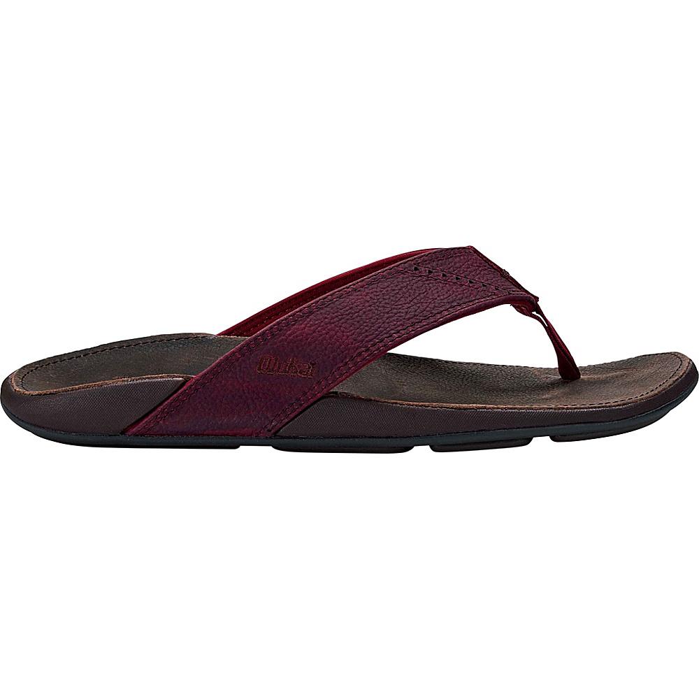 OluKai Mens Nui Sandal 15 - Terra/Dark Wood - OluKai Mens Footwear - Apparel & Footwear, Men's Footwear
