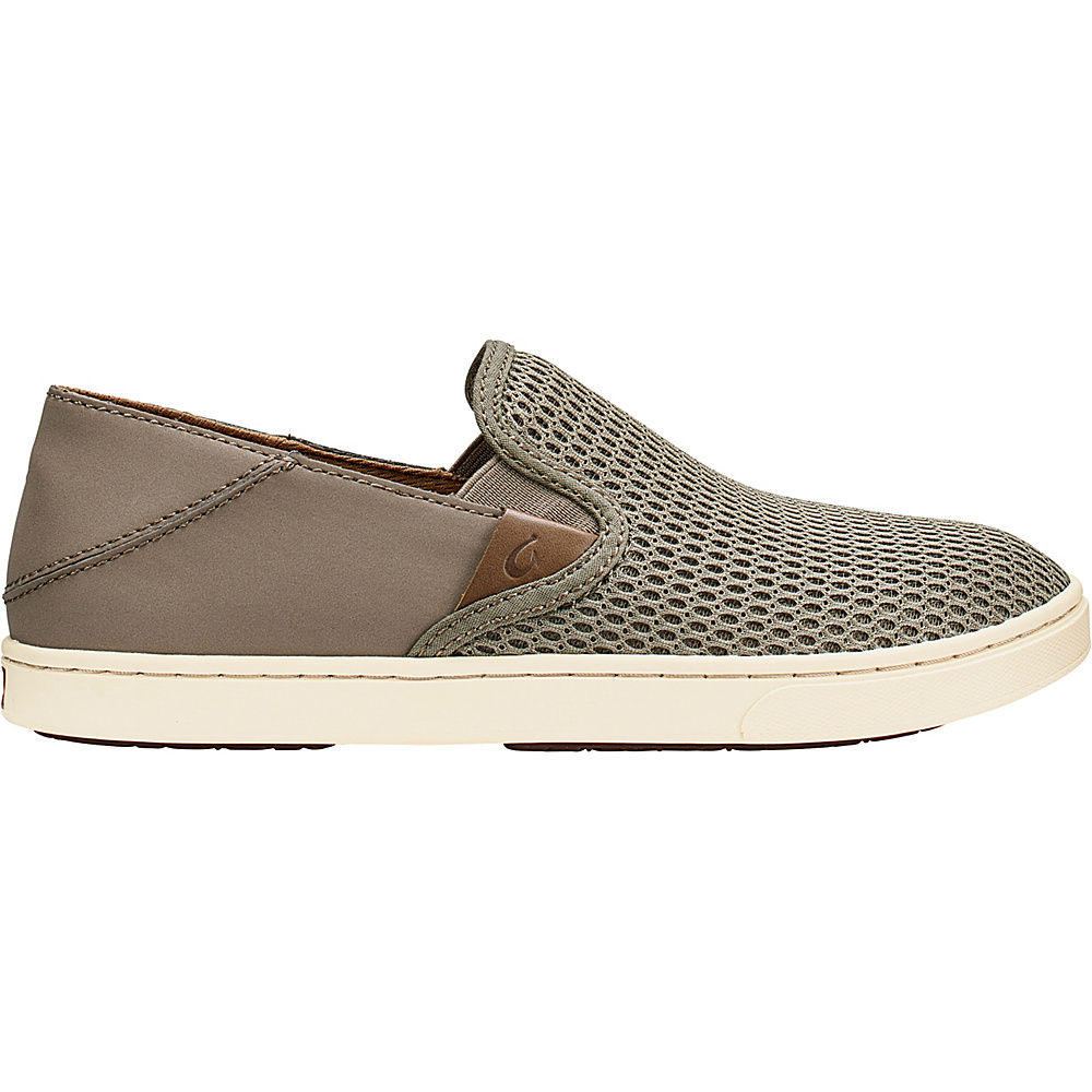 OluKai Womens Pehuea Slip-On 9 - Clay/Clay - OluKai Womens Footwear - Apparel & Footwear, Women's Footwear