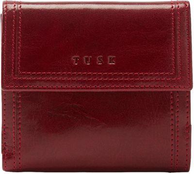 TUSK LTD Indexer Wallet Oxblood - TUSK LTD Women's Wallets