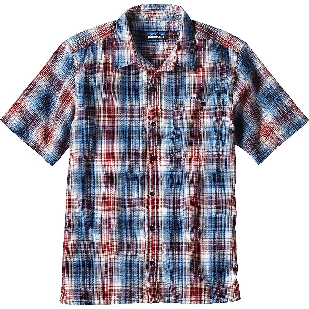 Patagonia Mens Puckerware Shirt XS - Costa: Radar Blue - Patagonia Mens Apparel - Apparel & Footwear, Men's Apparel