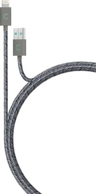 Candywirez 3 Ft Marbled Woven Braided Lighting Cables Grey/Purple - Candywirez Electronic Accessories