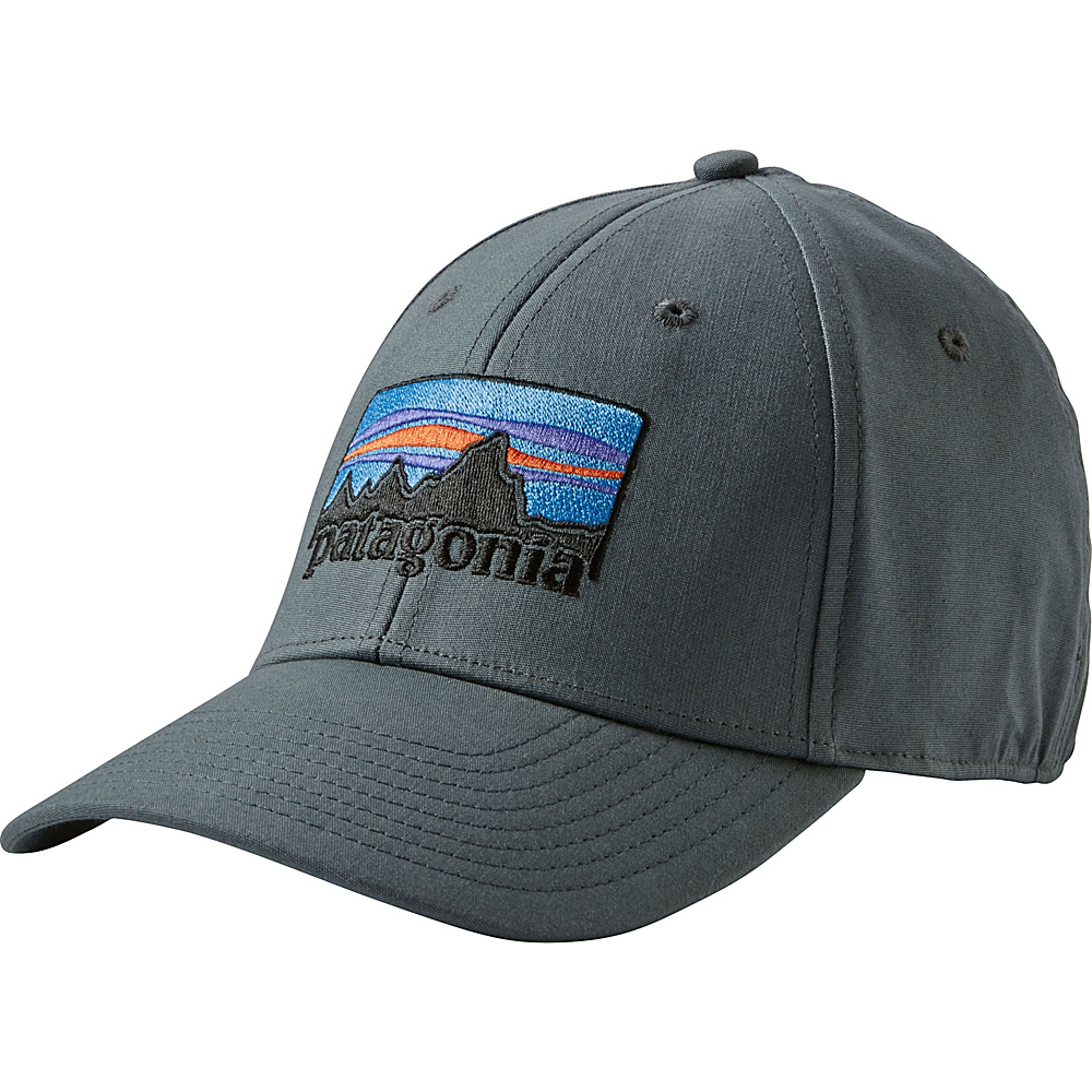 Patagonia 73 Logo Stretch Fit Hat L/XL - Nouveau Green - Patagonia Hats/Gloves/Scarves - Fashion Accessories, Hats/Gloves/Scarves