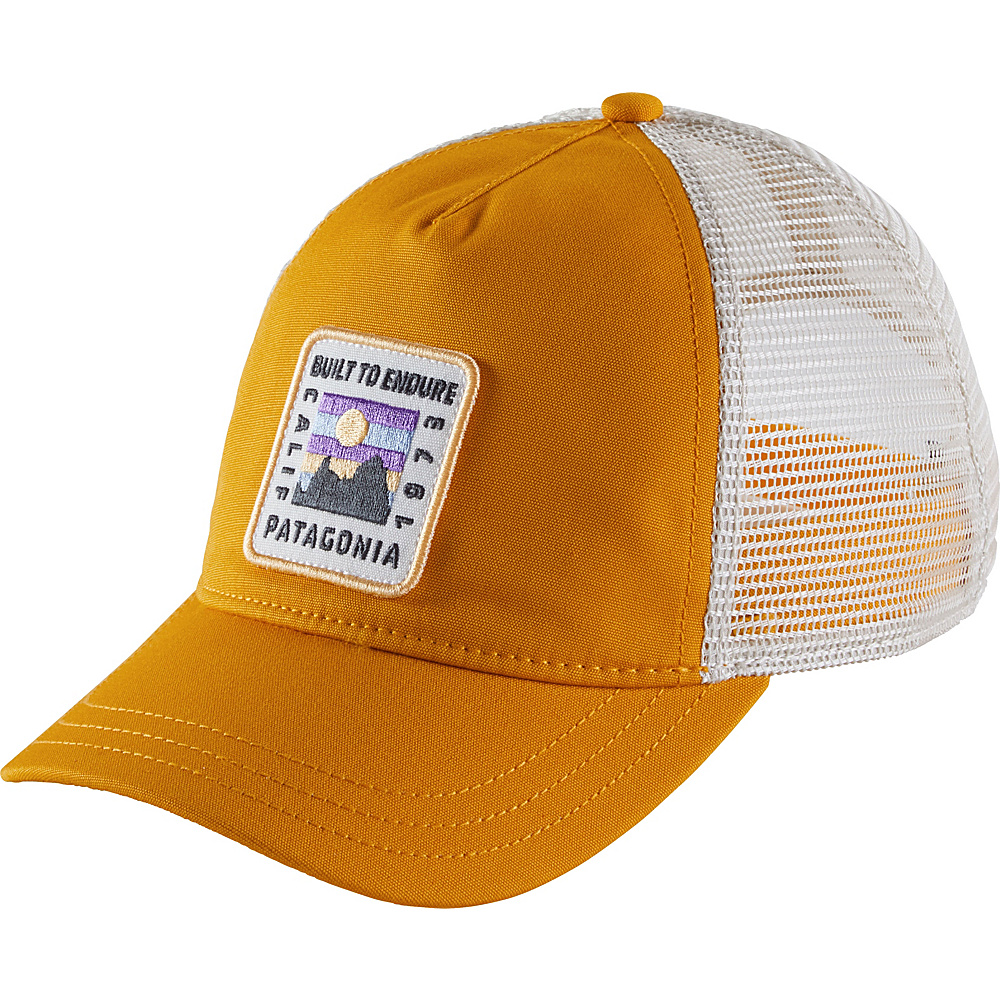 Patagonia Ws Ridge Rise Patch Layback Trucker Hat One Size - Ysidro Yellow - Patagonia Hats/Gloves/Scarves - Fashion Accessories, Hats/Gloves/Scarves