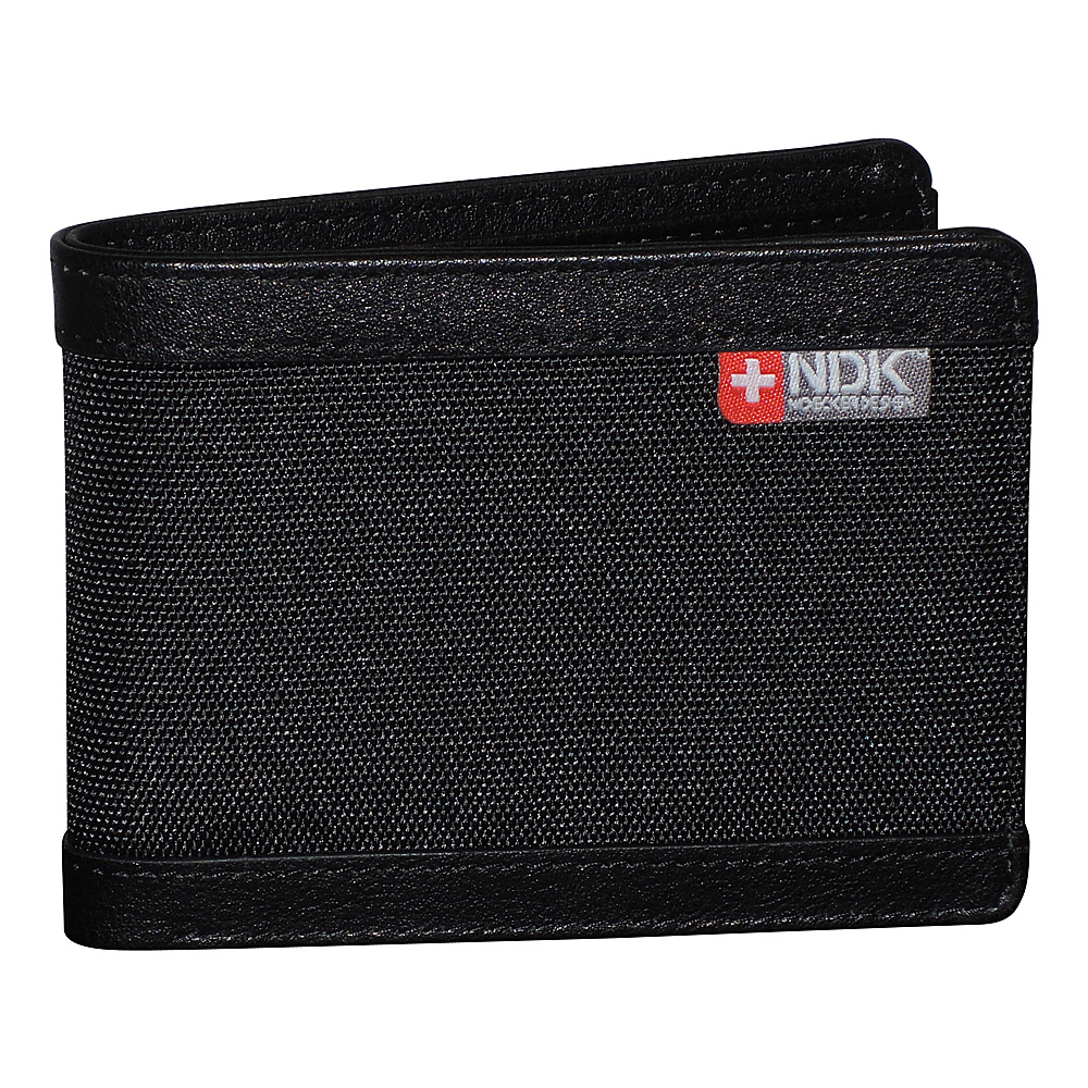 Nidecker Design Capital Collection Slimfold Wallet Black Nidecker Design Men s Wallets