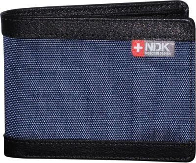 Nidecker Design Capital Collection Slimfold Wallet Indigo - Nidecker Design Men's Wallets