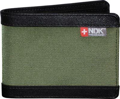 Nidecker Design Capital Collection Slimfold Wallet Moss - Nidecker Design Men's Wallets