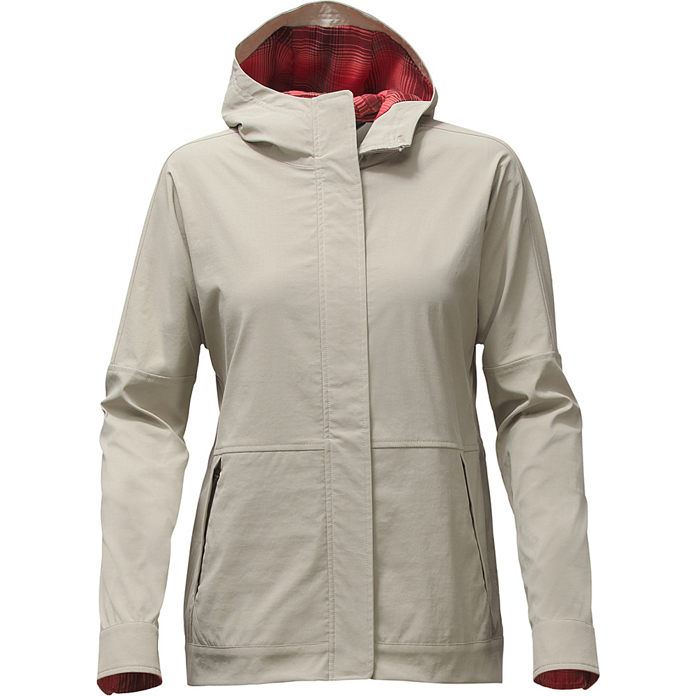 The North Face Womens Ultimate Travel Jacket L - Granite Bluff Tan - The North Face Womens Apparel - Apparel & Footwear, Women's Apparel
