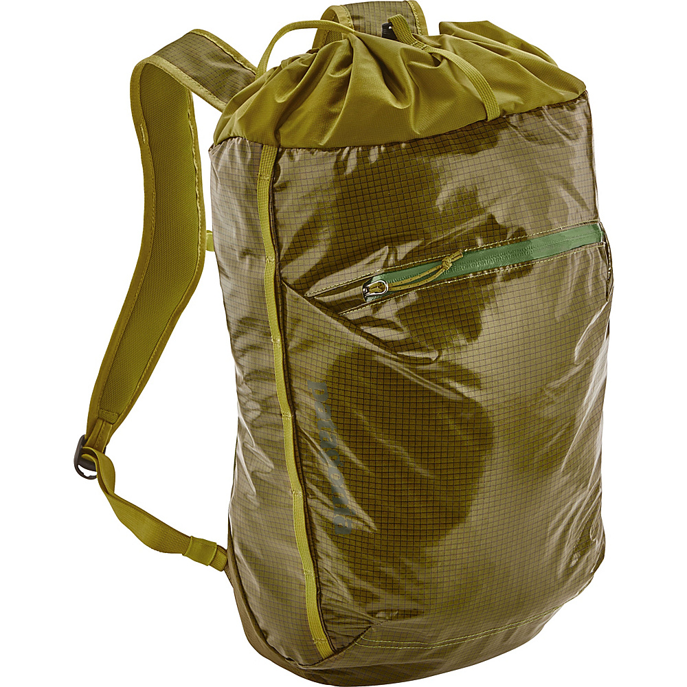 Patagonia Lightweight Black Hole Cinch Pack 20L Golden Jungle - Patagonia Everyday Backpacks - Backpacks, Everyday Backpacks