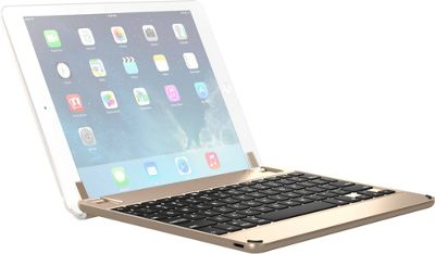 Brydge 9.7-inch Bluetooth Keyboard Case for iPad Air, Air 2, and iPad Pro 9.7-in Gold - Brydge Tablets