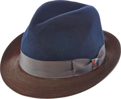 Carlos Santana Hats Cathmandu Hat XL - Navy - Large - Carlos Santana Hats Hats