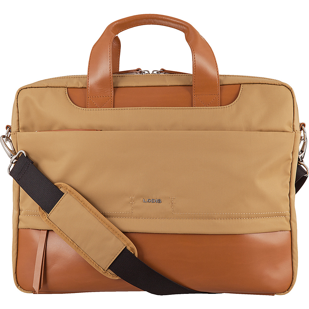 Lodis Kate Nylon Under Lock & Key Alexus Brief Light Brown - Lodis Womens Business Bags - Work Bags & Briefcases, Women's Business Bags