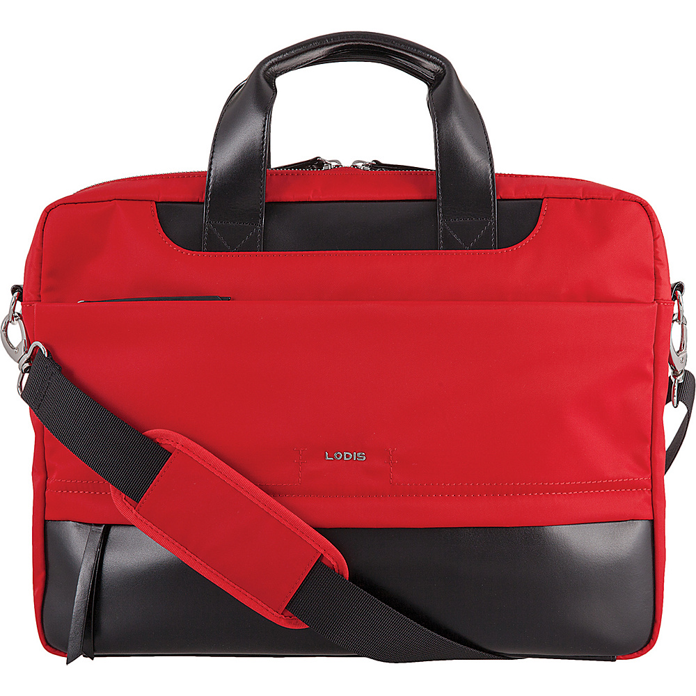 Lodis Kate Nylon Under Lock & Key Alexus Brief Red - Lodis Womens Business Bags - Work Bags & Briefcases, Women's Business Bags