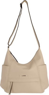 Lodis Valencia Olga Hobo Cream - Lodis Leather Handbags