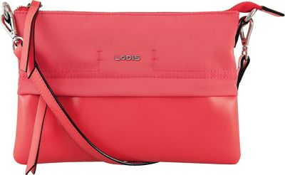 Lodis Kate Nylon Under Lock & Key Kala Convertible Crossbody Rose - Lodis Fabric Handbags