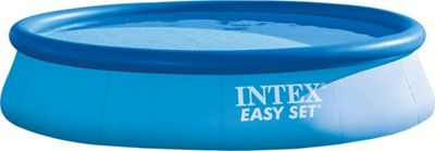 Intex 13' X 33 Easy Set Pool Blue - Intex Outdoor Accessories