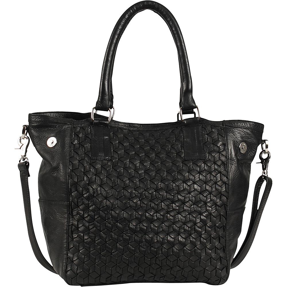 Day Mood Nova Tote Black Day Mood Leather Handbags