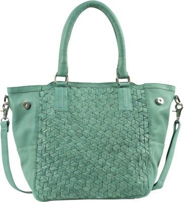 Day & Mood Nova Tote Dusty Green - Day & Mood Leather Handbags