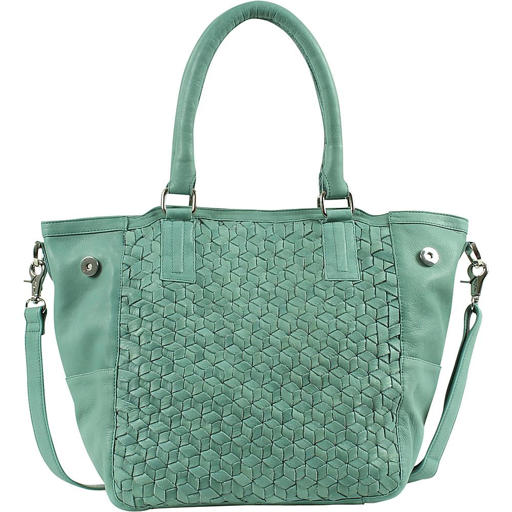 Day Mood Nova Tote Dusty Green Day Mood Leather Handbags