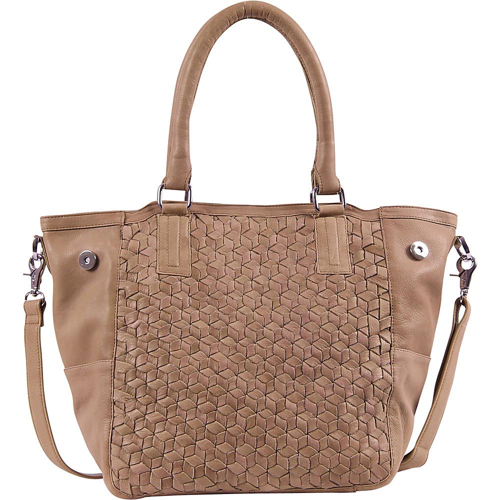 Day Mood Nova Tote Camel Day Mood Leather Handbags