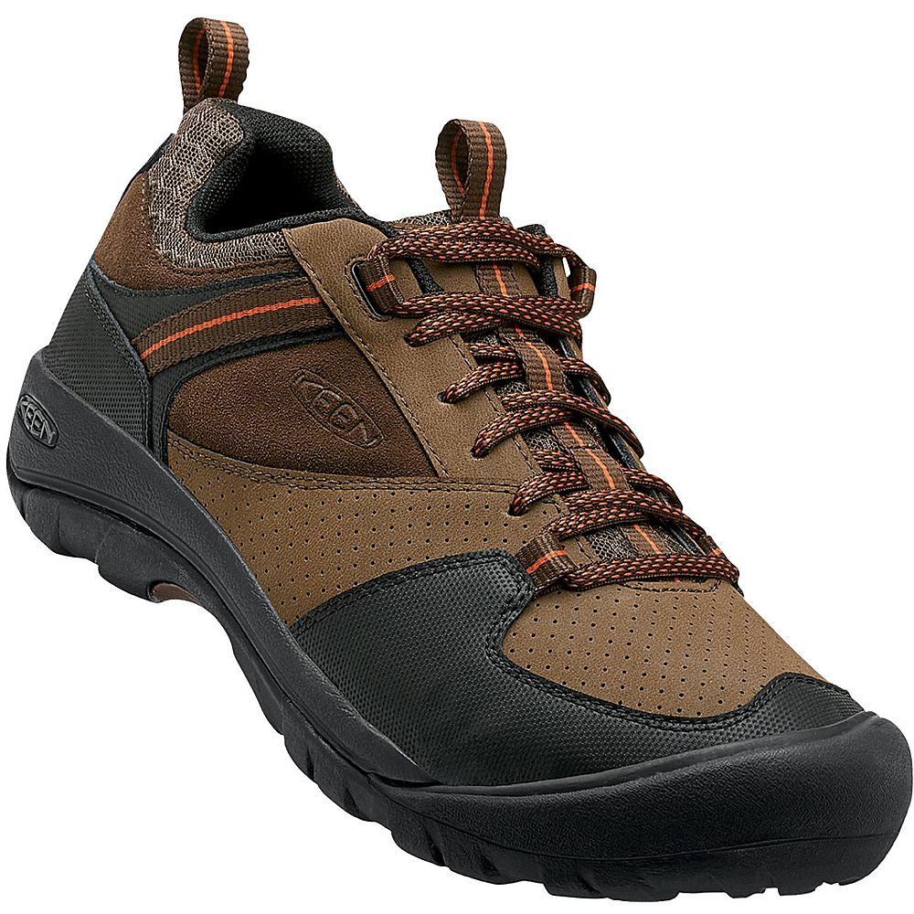 KEEN Mens Montford Shoe 9 - Dark Earth - KEEN Mens Footwear - Apparel & Footwear, Men's Footwear