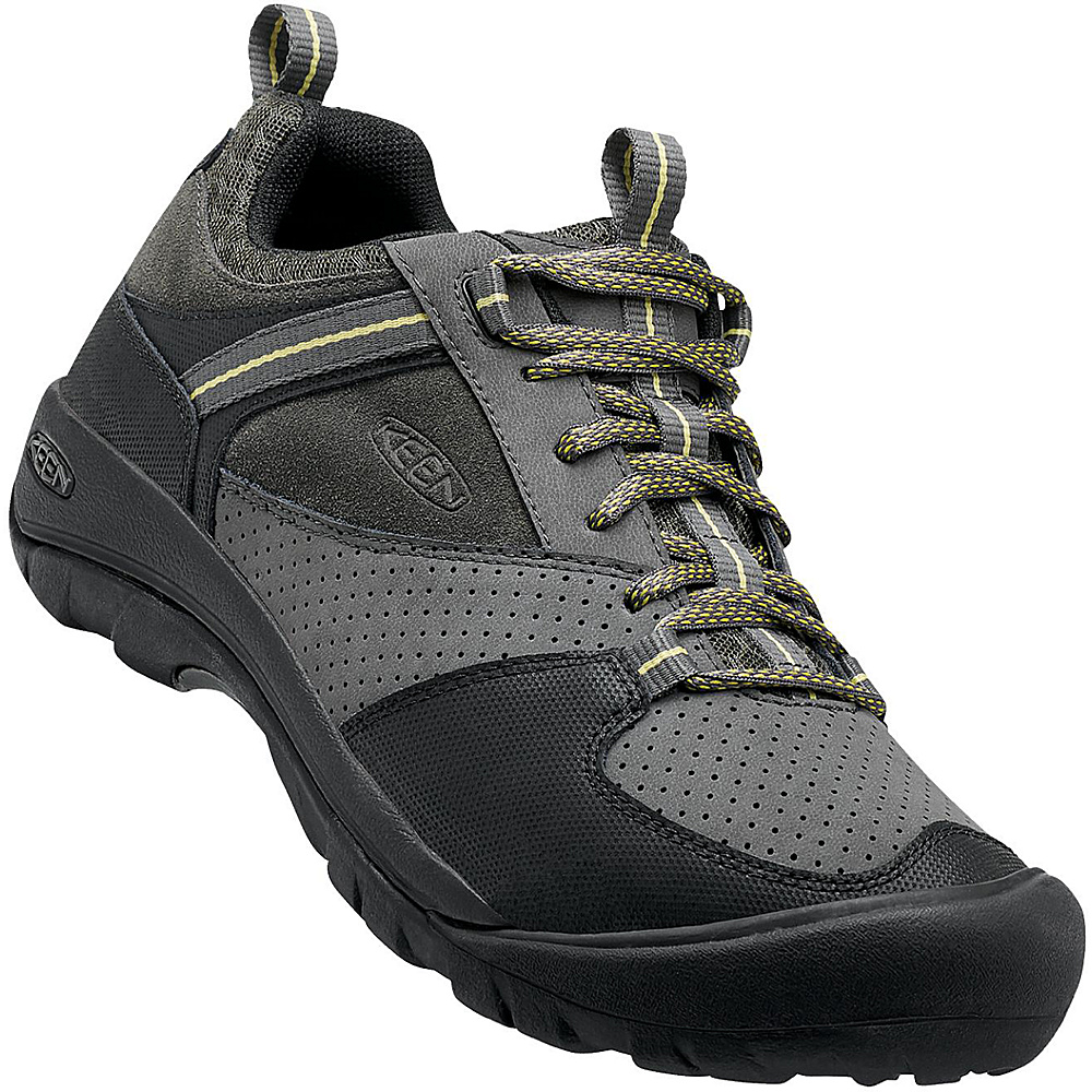 KEEN Mens Montford Shoe 8.5 - Magnet - KEEN Mens Footwear - Apparel & Footwear, Men's Footwear