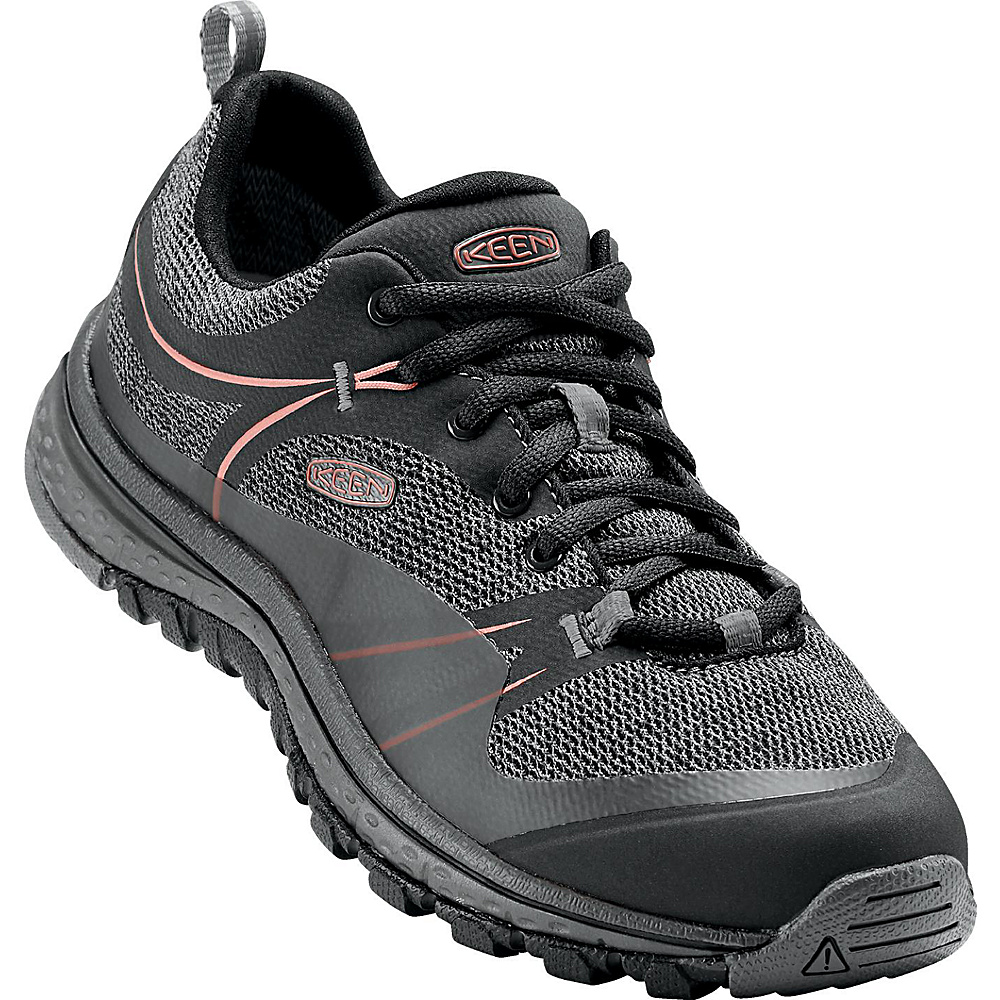 KEEN Womens Terradora Shoe 6 - Raven/Rose Dawn - KEEN Womens Footwear - Apparel & Footwear, Women's Footwear