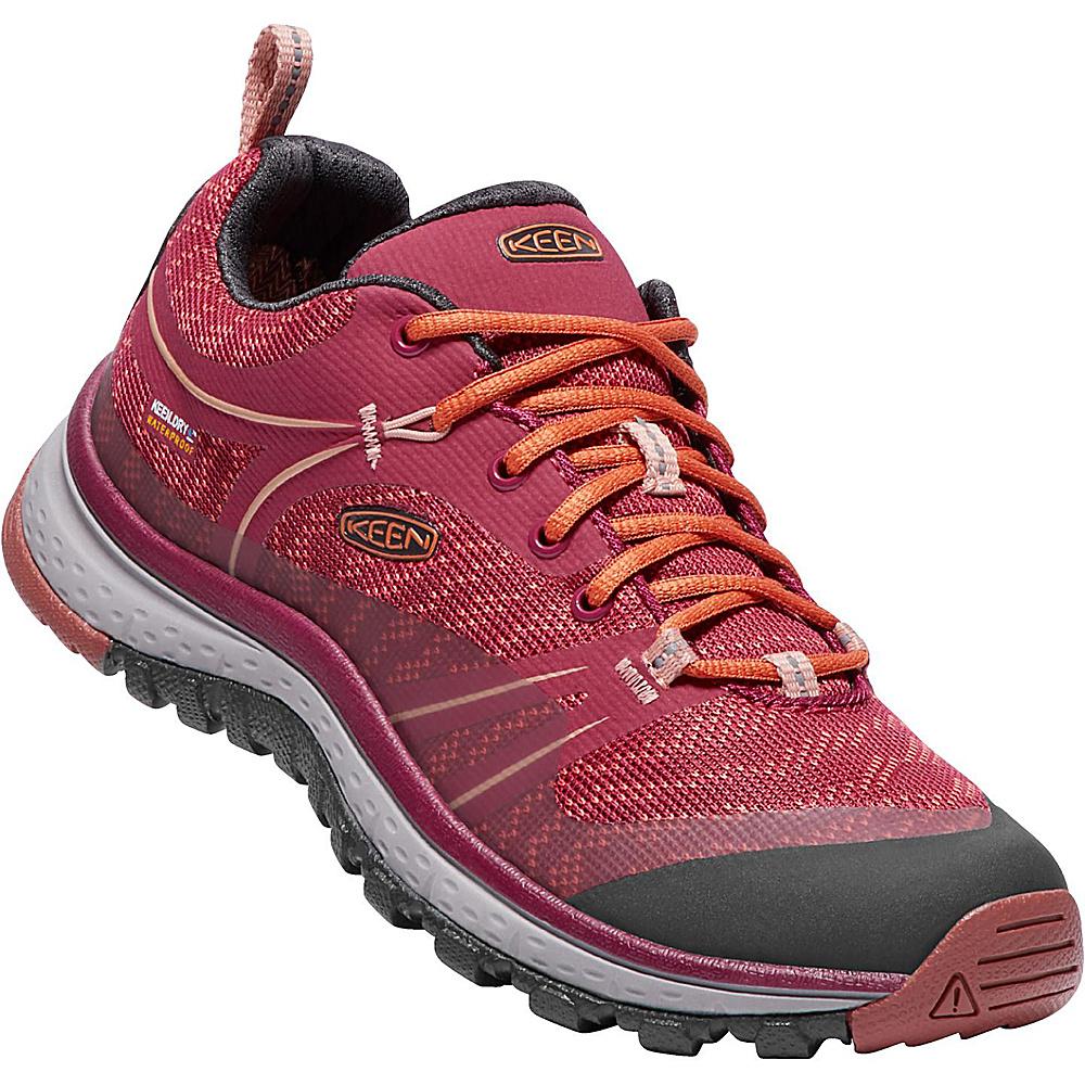 KEEN Womens Terradora Shoe 6 - Rhododendron/Marsala - KEEN Womens Footwear - Apparel & Footwear, Women's Footwear