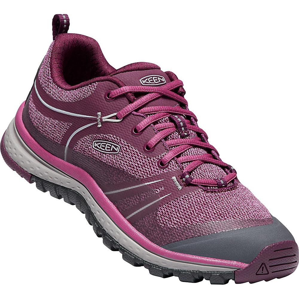KEEN Womens Terradora Shoe 10.5 - Grape Wine/Red Violet - KEEN Womens Footwear - Apparel & Footwear, Women's Footwear
