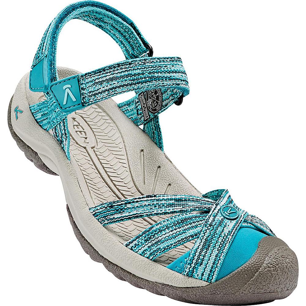 KEEN Womens Bali Strap Sandal 8.5 - Radiance/Algiers - KEEN Womens Footwear - Apparel & Footwear, Women's Footwear