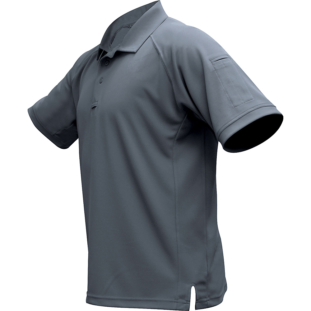 Vertx Mens Coldblack Short Sleeve Polo XL - Grey - Vertx Mens Apparel - Apparel & Footwear, Men's Apparel
