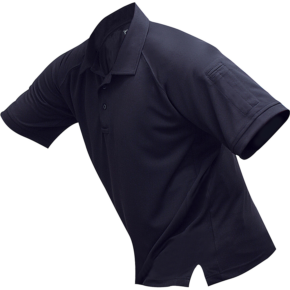 Vertx Mens Coldblack Short Sleeve Polo 2XL - Navy - Vertx Mens Apparel - Apparel & Footwear, Men's Apparel