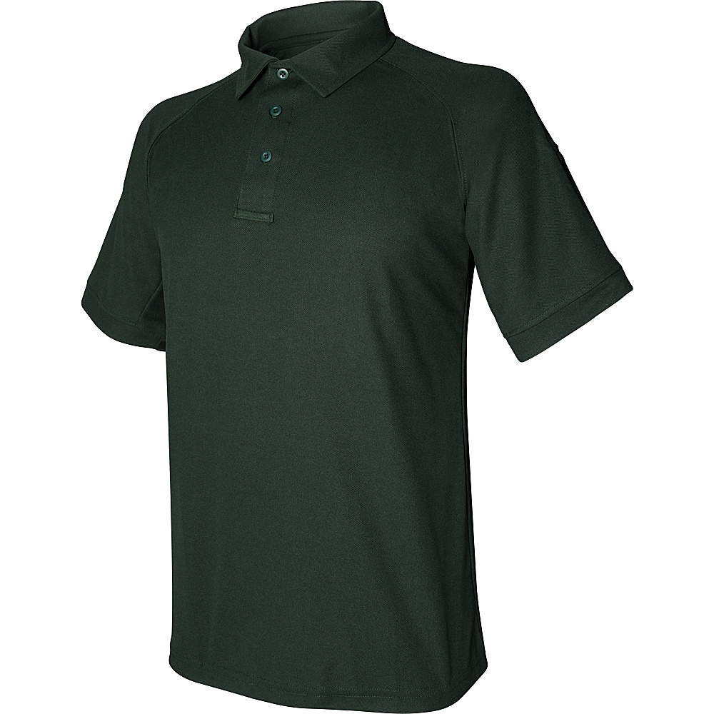 Vertx Mens Coldblack Short Sleeve Polo 3XL - Spruce Green - Vertx Mens Apparel - Apparel & Footwear, Men's Apparel