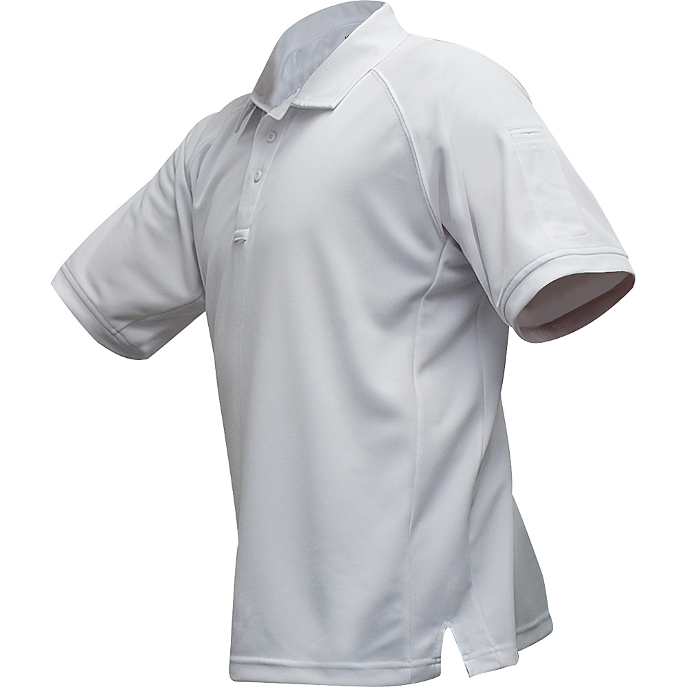 Vertx Mens Coldblack Short Sleeve Polo 2XL - White - Vertx Mens Apparel - Apparel & Footwear, Men's Apparel