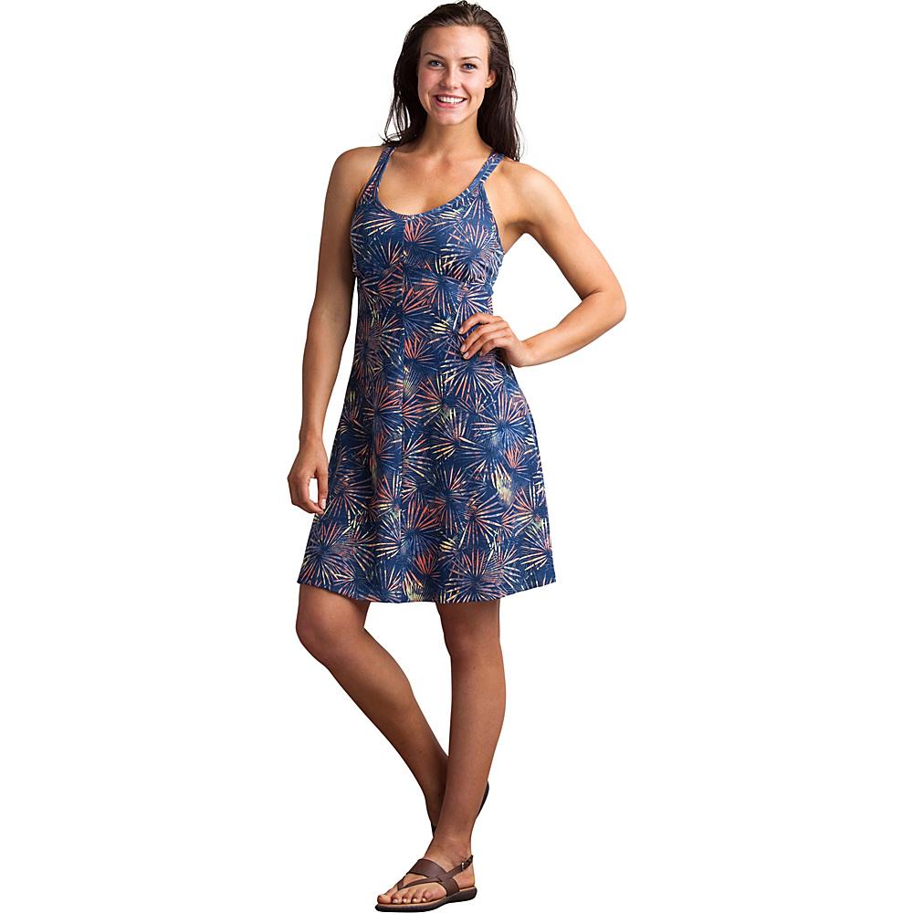 ExOfficio Womens Wanderlux Print Tank Dress XL - Indigo - ExOfficio Womens Apparel - Apparel & Footwear, Women's Apparel